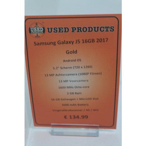Samsung Galaxy J5 16GB Gold 2017