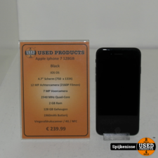 iPhone Apple Iphone 7 128GB Black