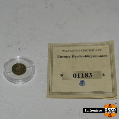 Nofretete 25 Dollar Gouden Munt 0.5G *803511*