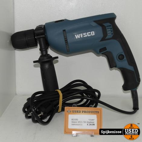 Wesco WS3170K Klopboor