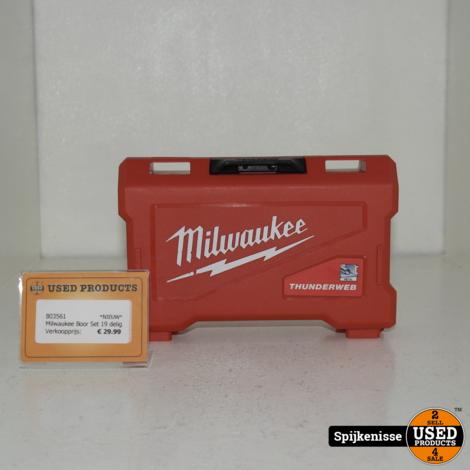 Milwaukee Boor Set 19 delig