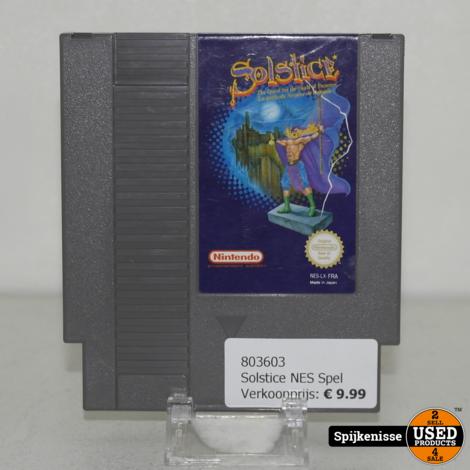 Solstice NES Spel *803603*