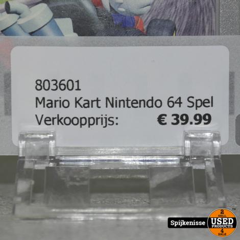 Mario Kart Nintendo 64 Spel