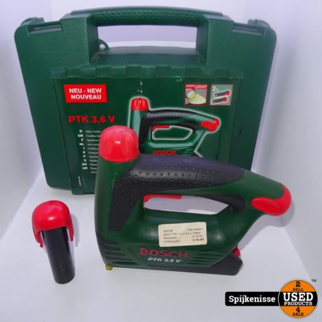 Bosch PTK 3.6 LI Accu Tacker