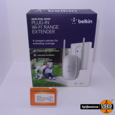 BELKIN N300 DB Dual Band Wireless WIFI Range Extender *803536*
