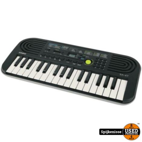 Casio Keyboard SA-47 NIEUW MET DOOS *803756*
