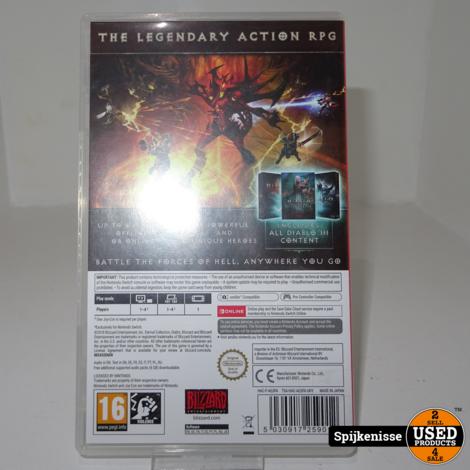"Nintendo Switch Spel ""Diablo - Eternal Collection' *803155*"
