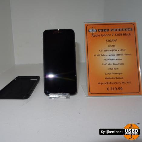 Apple Iphone 7 32GB Black MET HOES *803801*