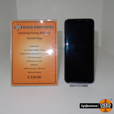 Samsung Galaxy S8 64GB Orchid Grey *803833*