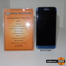 Samsung Galaxy S7 Edge 32GB Blue *803832*