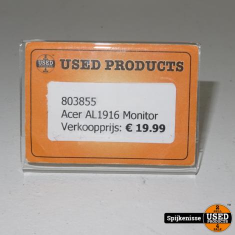 Acer AL1916 Monitor *803855*