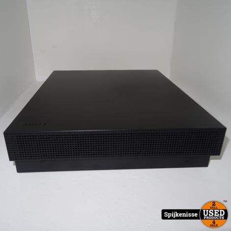 Xbox One X 1TB Black + Controller NIEUW IN DOOS *803896*