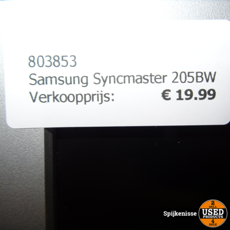 Samsung Syncmaster 205BW *803853*