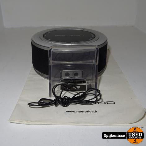 Lenswood MP3 Clock Radio *803867*