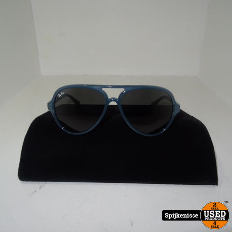 Ray-Ban RB 4125 CATS 5000 Blauw