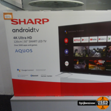 Sharp 50BL2EA 50 Inch 4K Ultra HD Android Smart TV *803966*