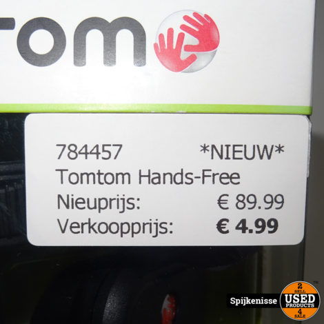 TomTom Hands-Free Navigation Pack Voor Iphone *784457*