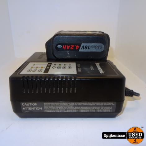 Panasonic Combiset EY74A2 Accuboormachine + EY46A2 Haakse Slijpmachine (Met doos)