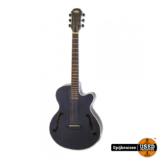 Aria Acoustic Guitar EQ Stained Black + Bag FET-F1 STBK NIEUW *804127*