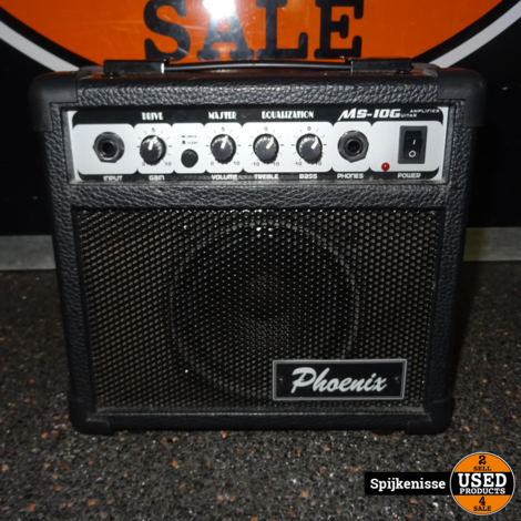 Phoenix Electric Guitar + Hoes & Versterker