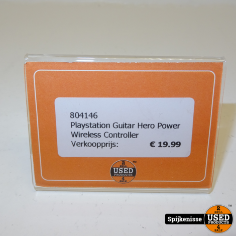 Playstation Guitar Hero Power Wireless Controller *804146*