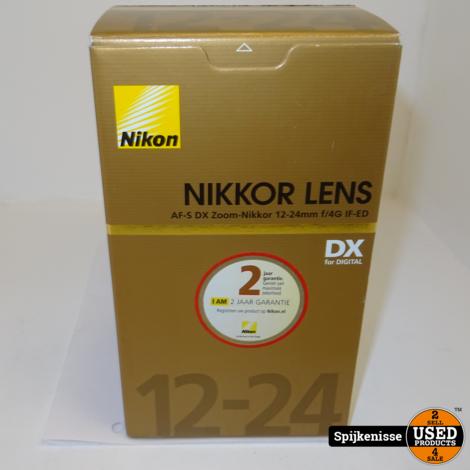 Nikon AF-S DX Zoom-Nikkor 12-24 f/4G IF-ED Lens ZGAN+DOOS/BON *804154*