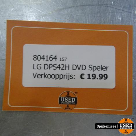 LG DPS42H DVD Speler *804164*