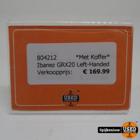 Ibanez GRX20 Left-Handed MET KOFFER *804212*