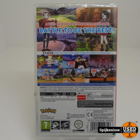 Nintendo Switch Spellen Pokemon Sword NIEUW *804245*
