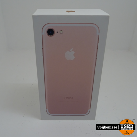Apple IPhone 7 128 GB Rose Gold MET DOOS *804240*  HOME BUTTON DEFECT