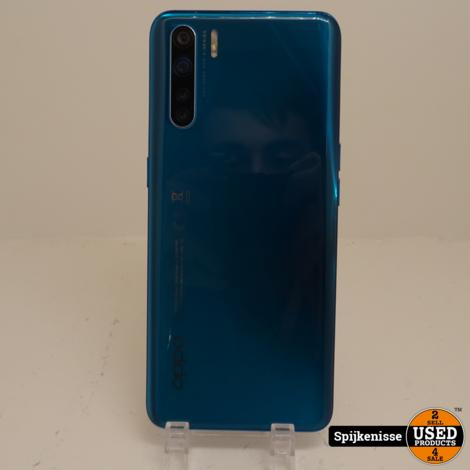 Oppo A91 128 GB Blazing Blue ZGAN MET DOOS EN BON *804251*
