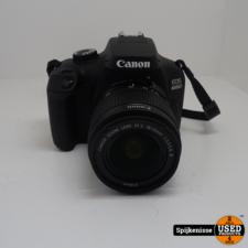 Canon EOS 4000D Body + Canon EFS 18-55mm 1:3.5-5.6 III Lens & Tas *804257/804258*