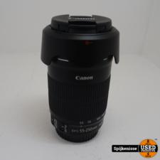 Canon EFS 55-250mm MACRO 0.85m/2.8ft ZGAN *804261*