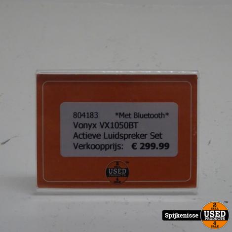 Vonyx VX1050BT Actieve Luidspreker Set Met Bluetooth *804183*