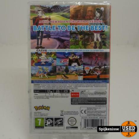 Nintendo Switch Spellen Pokemon Sword NIEUW *804246*