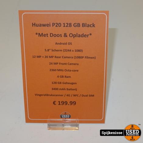Huawei P20 128GB Black *804243*