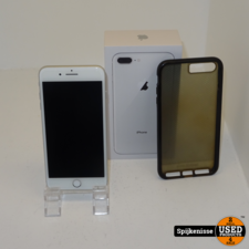 Apple iPhone 8 plus 256GB Zilver *804437*