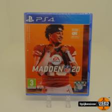 Playstation 4 Spel Madden 20 NIEUW en GESEALD *804534*