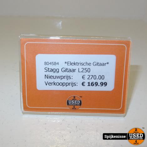 Stagg L250 Elektrische Gitaar *804584*