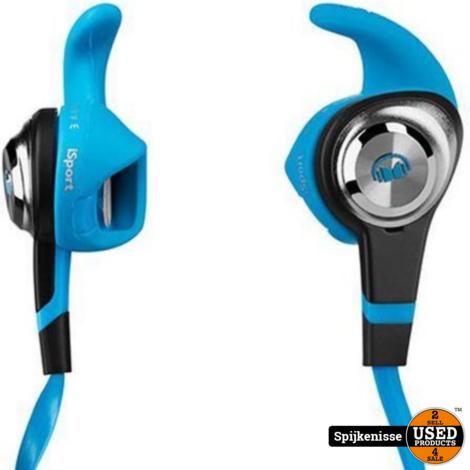 Monster iSport Strive Blue In ear oordopjes