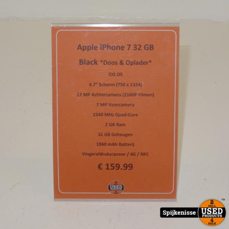 Apple iPhone 7 32GB Black *804669*