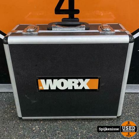 Worx WX371.2 Accutol Set met koffer *804723*