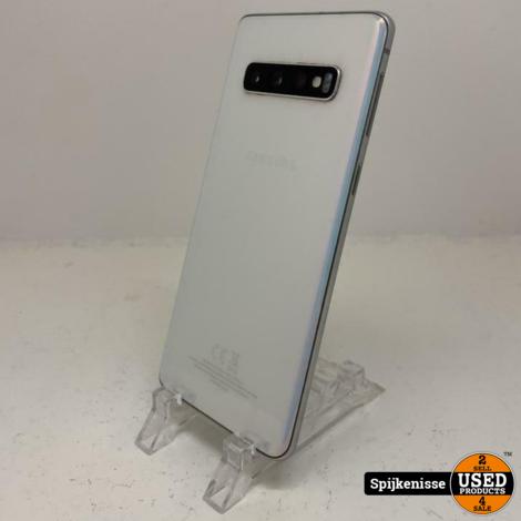 Samsung Galaxy S10 128GB Prism White met oplader *804732*