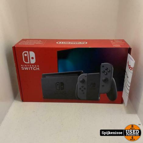 Nintendo Switch ZGAN COMPLEET MET BON *804833*