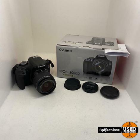 Canon EOS 2000D EF-S 18-55 III Kit MET BON *804834*