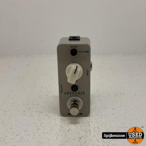 Mooer Grey Faze Micro Series Compact Pedal ZGAN *804889*