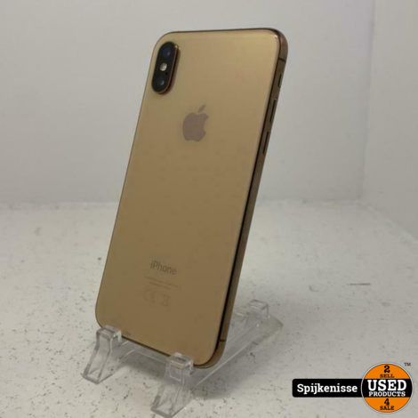 Apple iPhone Xs 64GB Gold COMPLEET *804944*