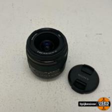 Sony DT f3.5-5.6 18-55mm SAM II Alpha Lens ZGAN *804964*