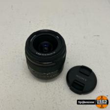 Sony DT f3.5-5.6 18-55mm SAM II Alpha Lens ZGAN *804963*