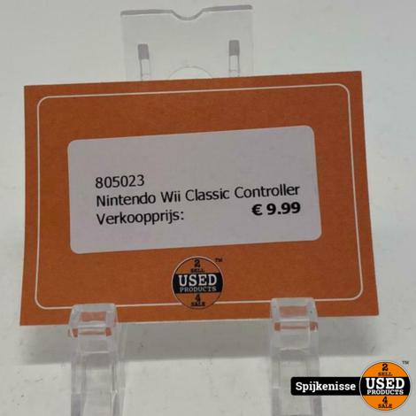 Nintendo Wii Classic Controller *805023*
